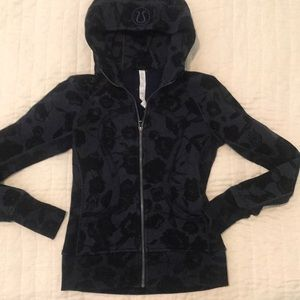 Lululemon Floral Scuba jacket